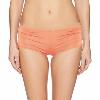 Hobie Womens Solid Hot Pant Bikini Bottom