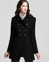 DKNY Double Breasted Military Coat