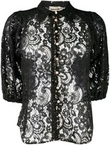 Semi-Couture Semicouture sheer lace shirt