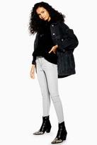 Topshop Pale Grey Jamie Jeans