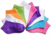 Hanes EZ Sort Girls` Toddler Low-Cut Socks, 38/10