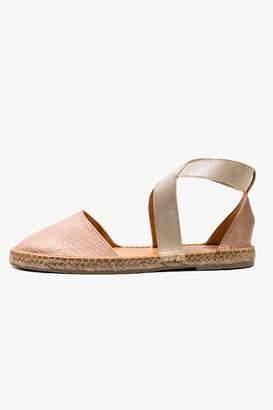 Morkas Shoes Cross Pink Espadrille