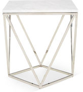 One Kings Lane Jasmine Marble Side Table