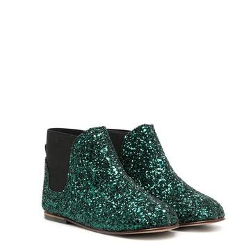 Babywalker Glitter Ankle Boots