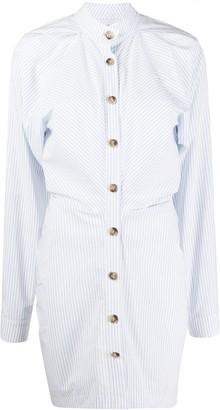 Nanushka Striped Shirt Dress