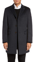 Ted Baker Alaska Trim Fit Wool & Cashmere Overcoat
