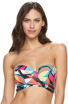 Apt. 9 Women's Abstract Underwire Bandeau Bikini Top