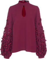 Andrew Gn Poof Sleeve Top