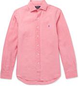 Polo Ralph Lauren Slim-Fit Slub Linen Shirt