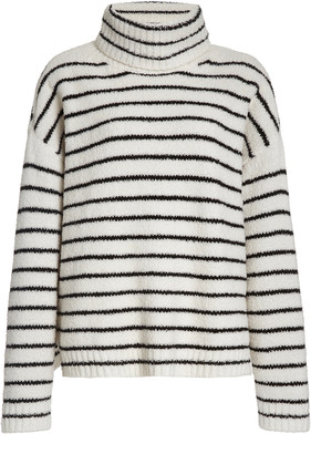 ATM Anthony Thomas Melillo Chenille Roll Neck Knit Sweater