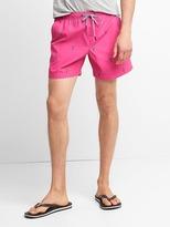 "Gap Print drawcord swim trunks (5"")"