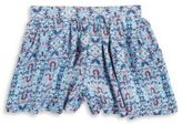 Jessica Simpson Girls Layne Patterned Shorts
