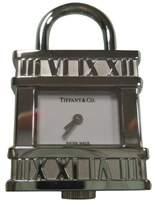 Tiffany & Co. Atlas Padlock Stainless Steel Swiss Watch Pendant