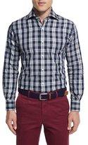 Peter Millar Teton Plaid Long-Sleeve Sport Shirt
