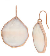 Kenneth Cole New York Geometric Mother-of-Pearl Shell Drop Earrings