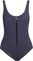 Lisa Marie Fernandez Jasmine stretch-denim swimsuit