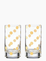 Kate Spade Pearl place highball set