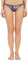 Mikoh Women's Valencia Bikini Bottom-BLACK, GREY