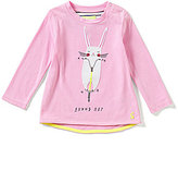 Joules Baby/Little Girls 12 Months-3T Fava Bunny Hop Babydoll Top