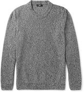 Hugo Boss - Igus Mélange Mouline Cotton Sweater