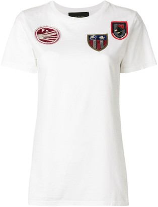 Mr & Mrs Italy front patches T-shirt