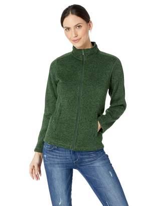 D & Jones Women's Bristol Full-Zip Sweater Fleece Jacket