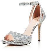 Kate Spade Women's Franklin Glitter Platform High Heel Sandals