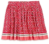Kate Spade Girls' Floral Tile Skirt - Little Kid