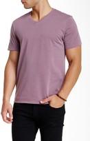 Public Opinion Short Sleeve V-Neck Garment Dye Tee