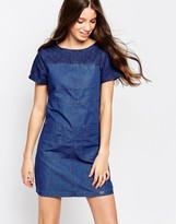 Bellfield Paneled Denim Dress