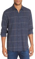 Jeremiah Men's Dillon Twill Plaid Sport Shirt