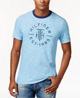 Tommy Hilfiger Men's Big & Tall Graphic Print T-Shirt