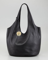 Vince Camuto Wow Shrunken Leather Tote Bag