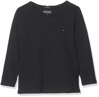 Tommy Hilfiger Girl's Basic Cn Knit L/s T-Shirt