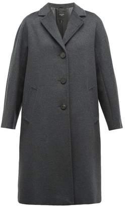 Max Mara Funale Coat - Womens - Dark Grey