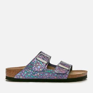 Birkenstock Women's Arizona Slim Fit Suede Double Strap Sandals