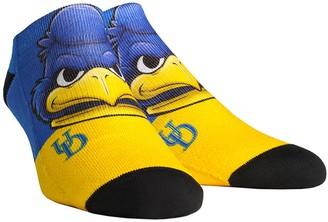 E.m. Unbranded Men's Rock Socks Delaware Fightin' Blue Hens Mascot Low Ankle Socks