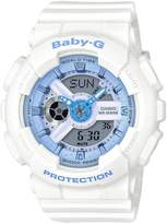 Baby-G Casio Baby G Casio Baby G white resin strap ladies watch