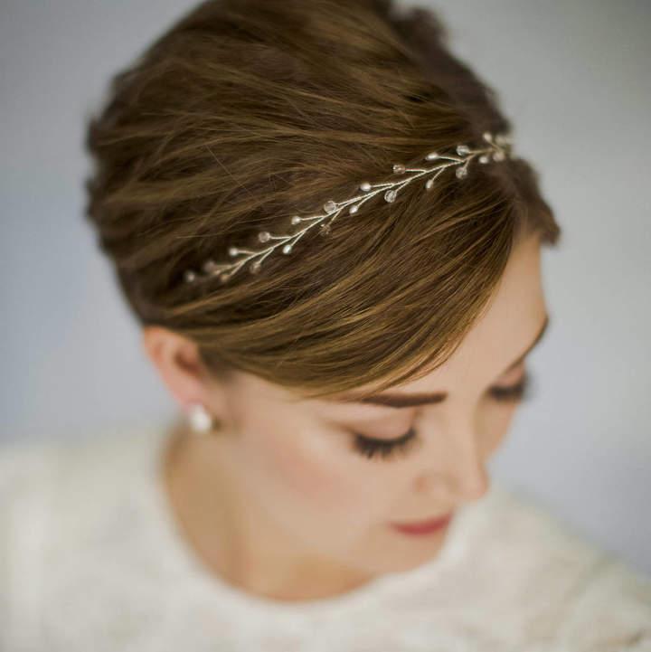 Carlisle Debbie Simple Wedding Headband Or Hairvine Amy