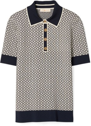 Tory Burch Gemini Link Polo Shirt