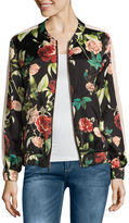 i jeans by Buffalo Floral Bomber Jacket