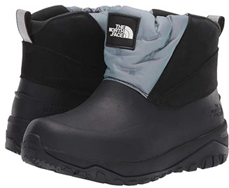The North Face Yukiona Ankle Boot Shiney (Glacier Iridescent/TNF Black) Women's Shoes