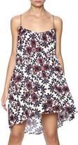 En Creme Big Floral Strap Dress