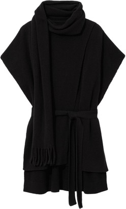 Proenza Schouler Draped Shortsleeved Knitted Top
