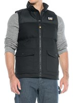Caterpillar Trademark Vest - Insulated (For Men)
