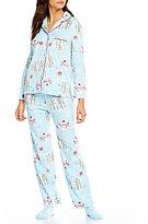 Karen Neuburger Holiday Snowman Microfleece Pajamas & Socks Set