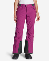 Eddie Bauer Women's Powder Search Insulated Pants