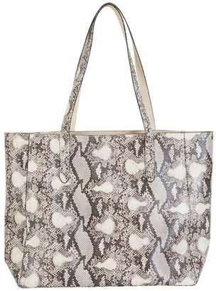 Sandler H-Charlie Snake Print Handbag Two