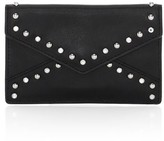 Rebecca Minkoff Leo Studded Leather Envelope Card Case