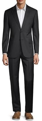 Armani Collezioni Classic-Fit Pinstripe Wool Suit
